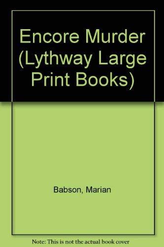 9780745115283: Encore Murder (Lythway Large Print Books)