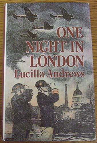 9780745119793: One Night in London