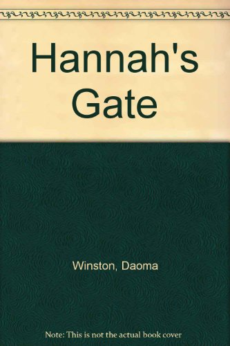 Hannah's Gate (0745126839) by Winston, Daoma