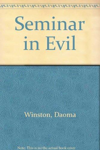 9780745127910: Seminar In Evil