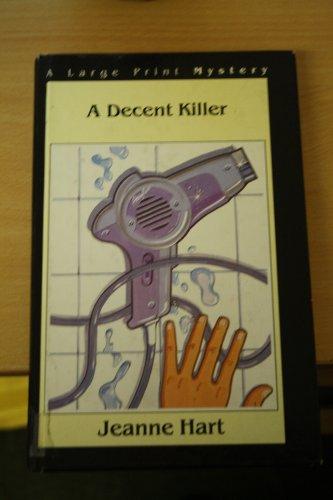 9780745129006: A Decent Killer (A Large Print Mystery)