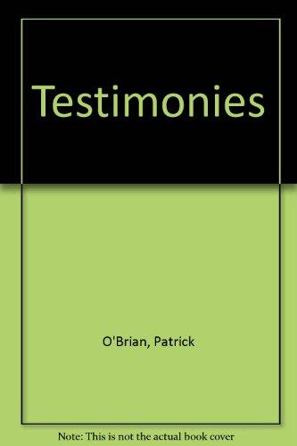 9780745130828: Testimonies