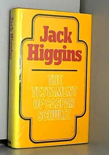9780745132716: The Testament of Caspar Schultz (Paragon Softcover Large Print Books)