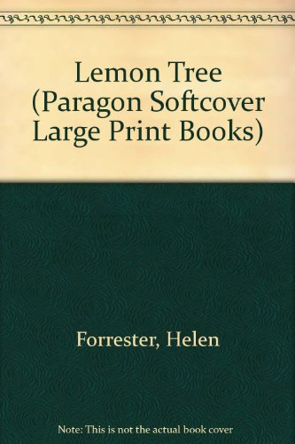 9780745132730: Lemon Tree (Paragon Softcover Large Print Books)