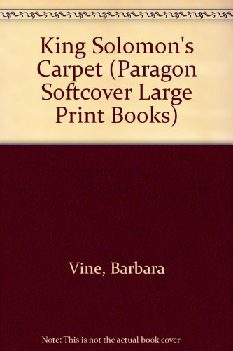 9780745133539: King Solomon's Carpet - Large Print