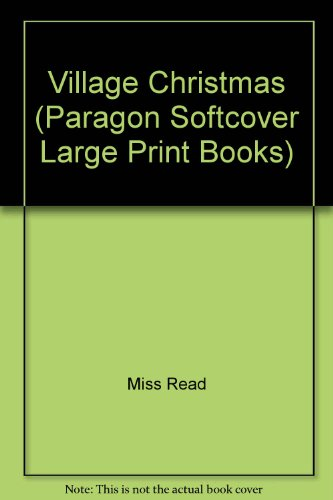 9780745135052: Village Christmas (Paragon Softcover Large Print Books)