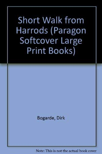 9780745135816: Short Walk from Harrods (Paragon Softcover Large Print Books)
