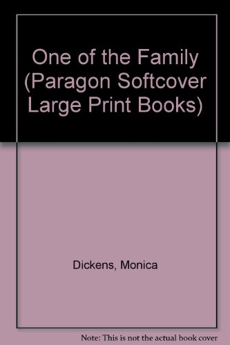 9780745135939: One of the Family (Paragon Softcover Large Print Books)