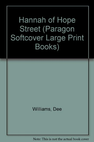 9780745137087: Hannah of Hope Street (Paragon Softcover Large Print Books)