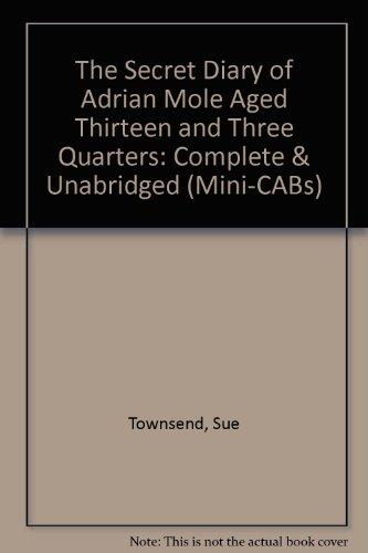 9780745143330: The Secret Diary of Adrian Mole Aged 13 3/4 (Mini-CABs)