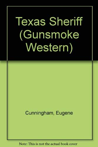 9780745146140: Texas Sheriff (Gunsmoke Western Series)