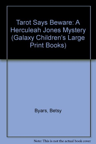 9780745147338: Tarot Says Beware: A Herculeah Jones Mystery (Galaxy Children's Large Print Books)