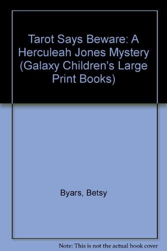 9780745147338: Tarot Says Beware (Galaxy Children's Large Print Books)