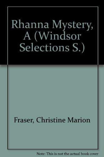 9780745154268: Rhanna Mystery (Windsor Selections S)