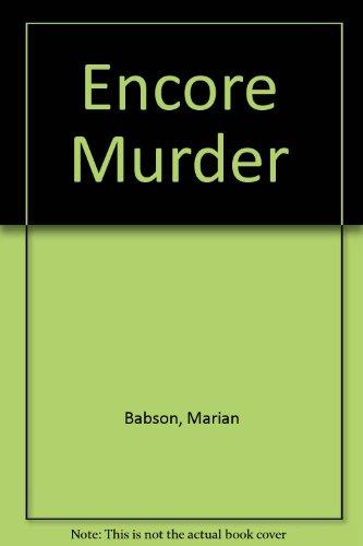 9780745156286: Encore Murder