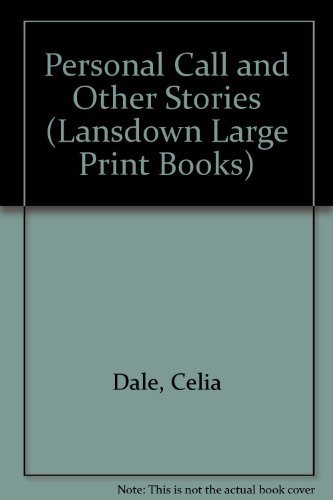 9780745156330: Personal Call and Other Stories (Lansdown Large Print Books)
