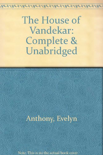 9780745157504: The House of Vandekar: Complete & Unabridged