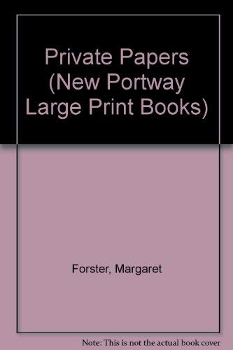 9780745170671: Private Papers (Portway Large Print Series)