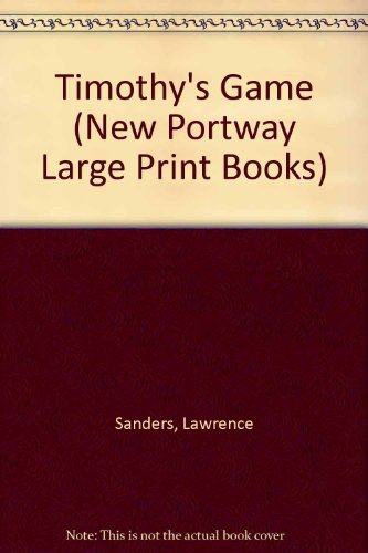 9780745171951: Timothy's Game (New Portway Large Print Books)