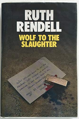 Wolf to the Slaughter (New Portway Large Print Books) (0745172164) by Ruth Rendell