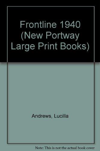 9780745172613: Frontline 1940 (New Portway Large Print Books)