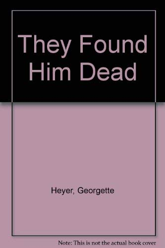 9780745172811: They Found Him Dead (New Portway Large Print Books)