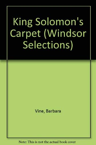 9780745174150: King Solomon's Carpet (Windsor Selections)