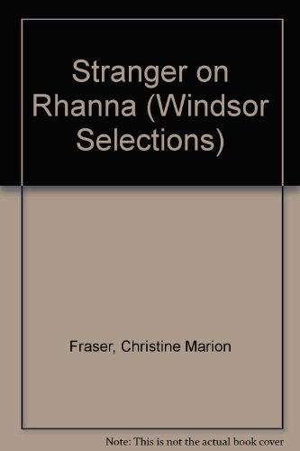 9780745175959: Stranger on Rhanna (Windsor Selections)