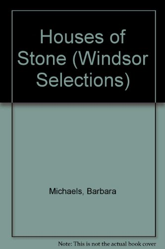 9780745176949: Houses of Stone ( Large Print )