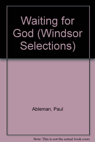 "9780745178059: ""Waiting for God"" (Windsor Selections)"