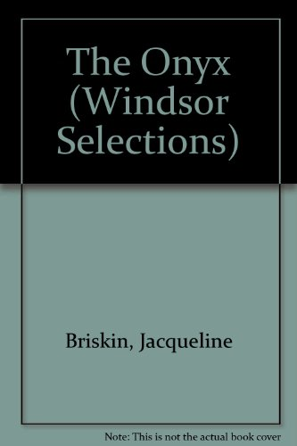 9780745178202: The Onyx (Windsor Selections)