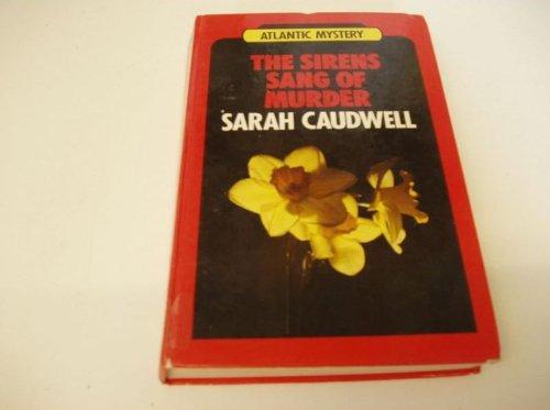 9780745180465: Sirens Sang of Murder (Atlantic Large Print Books)