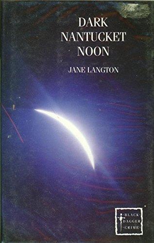9780745186047: Dark Nantucket Noon (Black Dagger Crime Series)
