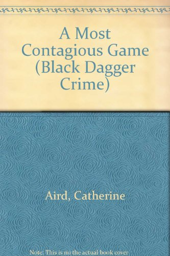 9780745186306: A Most Contagious Game (Black Dagger Crime Series)