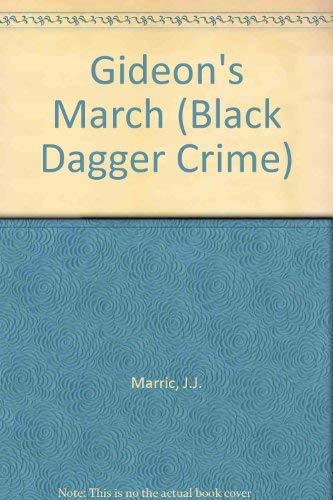 9780745186405: Gideon's March (Black Dagger Crime Series)