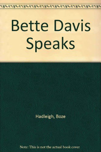 9780745188409: Bette Davis Speaks