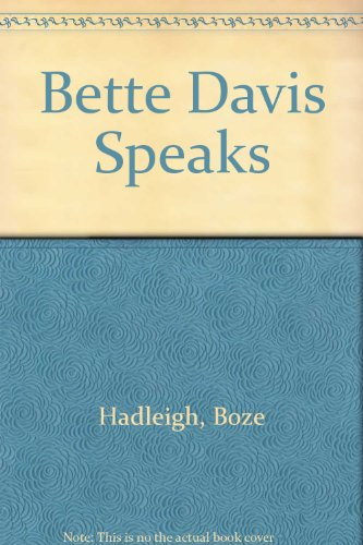 9780745188416: Bette Davis Speaks