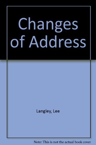 9780745188683: Changes of Address
