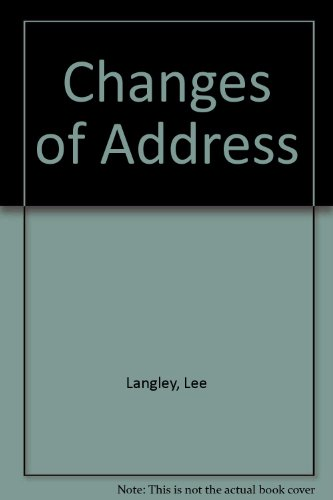 9780745188690: Changes of Address