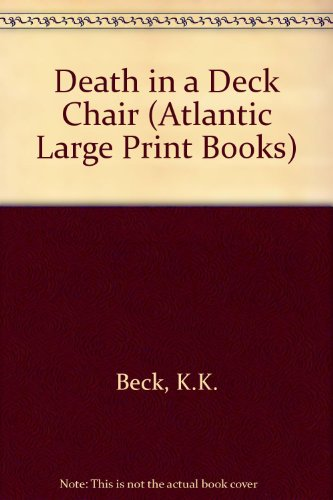 9780745193335: Death in a Deck Chair (Atlantic Large Print Books)