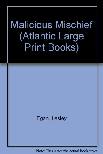 9780745194912: Malicious Mischief (Atlantic Large Print Books)