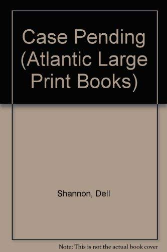 9780745197425: Case Pending (Atlantic Large Print Books)