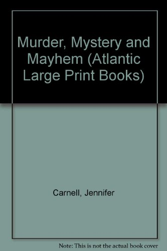 9780745198422: Murder Mystery and Mayhem (Atlantic Large Print Series)