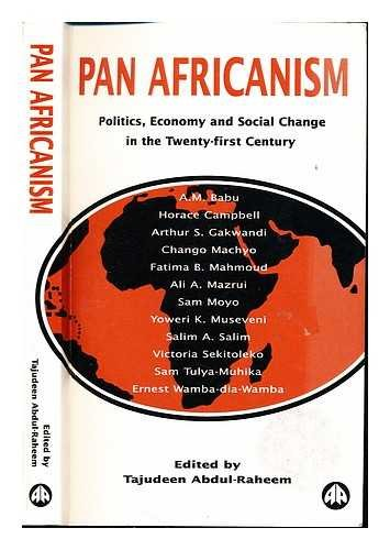9780745311487: Pan Africanism: Politics, Economy and Social Change in the Twenty-First Century