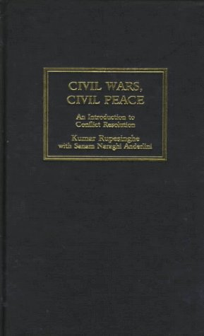 9780745312422: Civil Wars, Civil Peace: An Introduction to Conflict Resolution (South Florida Studies in the History)