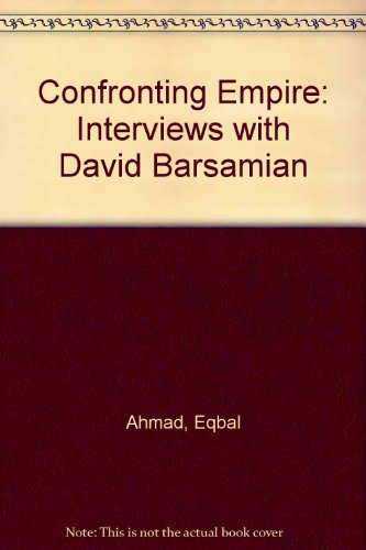 9780745317120: Confronting Empire: Interviews with David Barsamian