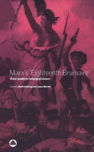 9780745318301: Marx's 'Eighteenth Brumaire': (Post) Modern Interpretations