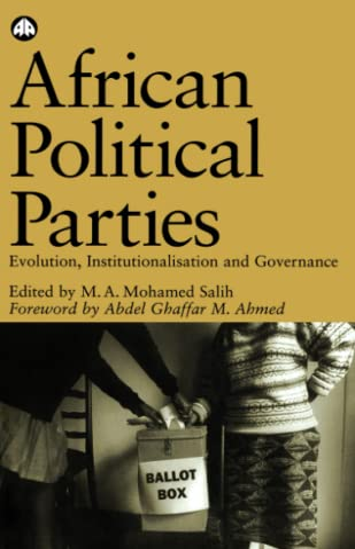 9780745320373: African Political Parties: Evolution, Institutionalisation and Governance (OSSREA)