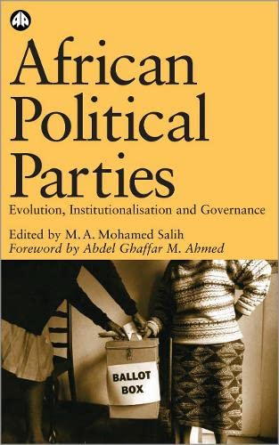 9780745320380: African Political Parties: Evolution, Institutionalisation and Governance (Ossrea)