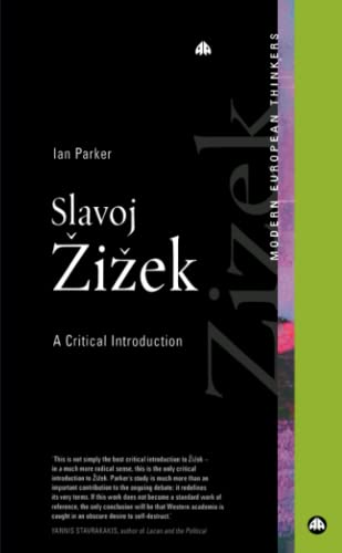 9780745320717: Slavoj Zizek: A Critical Introduction (Modern European Thinkers)